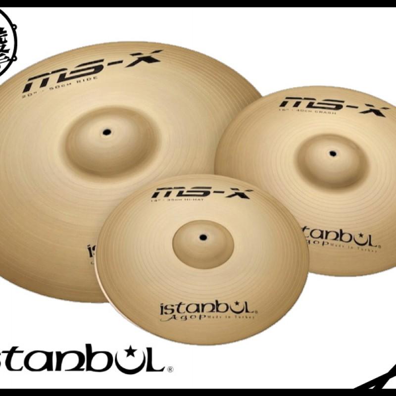Istanbul MS-X 套裝鈸組
