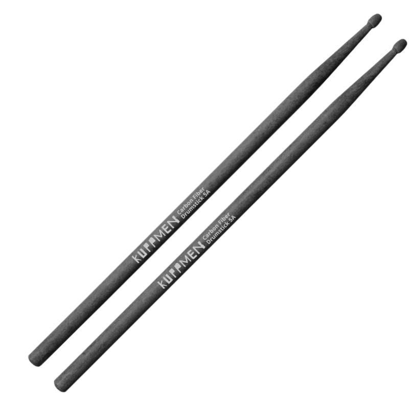 Kuppmen 5A 黑色碳纖維鼓棒 (CFDS5A) 【美鼓打擊】