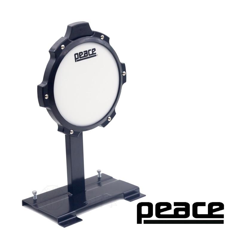 PEACE 8吋 白色皮面大鼓練習墊 打點板 (TR-3SE) 【美鼓打擊】