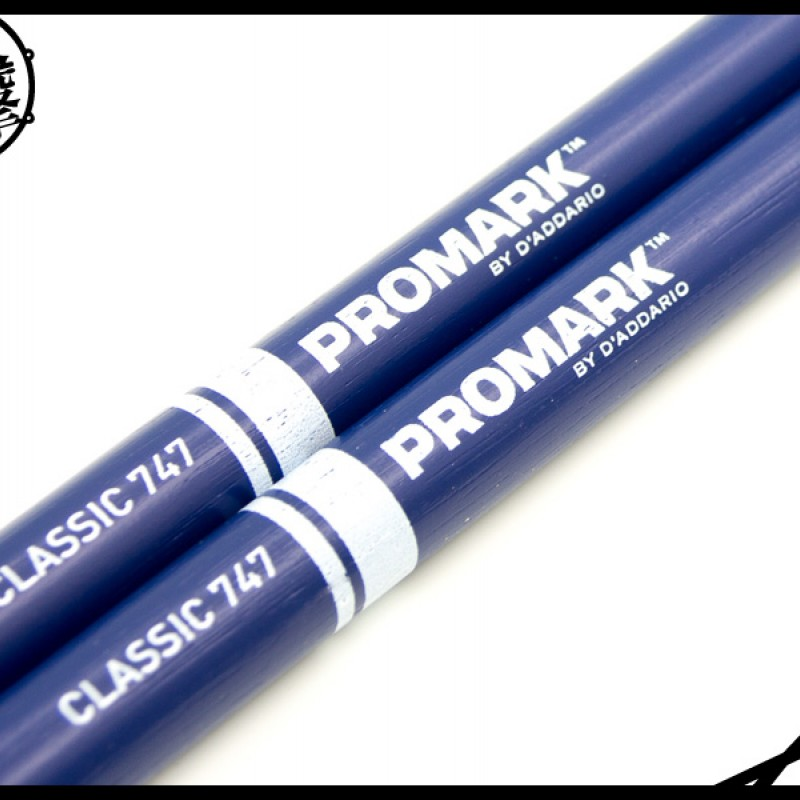 Promark TX747W-B 藍色經典鼓棒