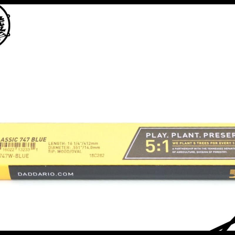 Promark TX747W-B 藍色經典鼓棒 (TX747W-B) 【美鼓打擊】