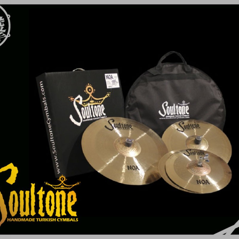 Soultone NOA Cymbal Pack 中高階銅鈸組