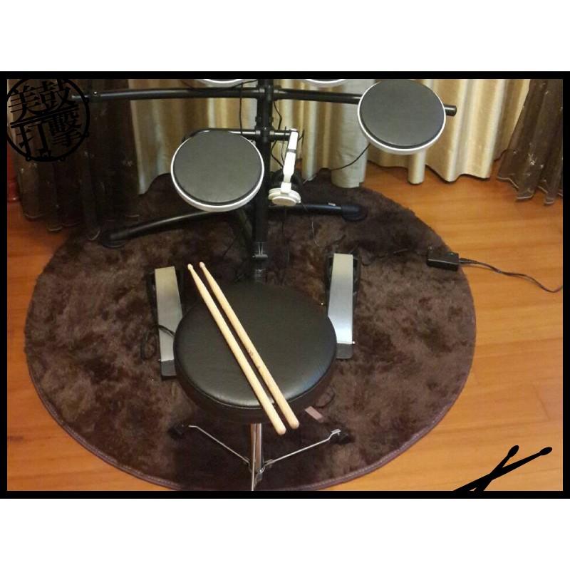電子鼓專用圓型地毯-深咖啡 (CP-C) 【美鼓打擊】