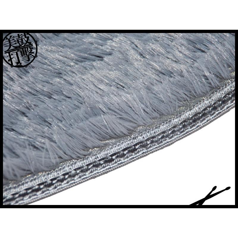 電子鼓專用圓型地毯-淺灰