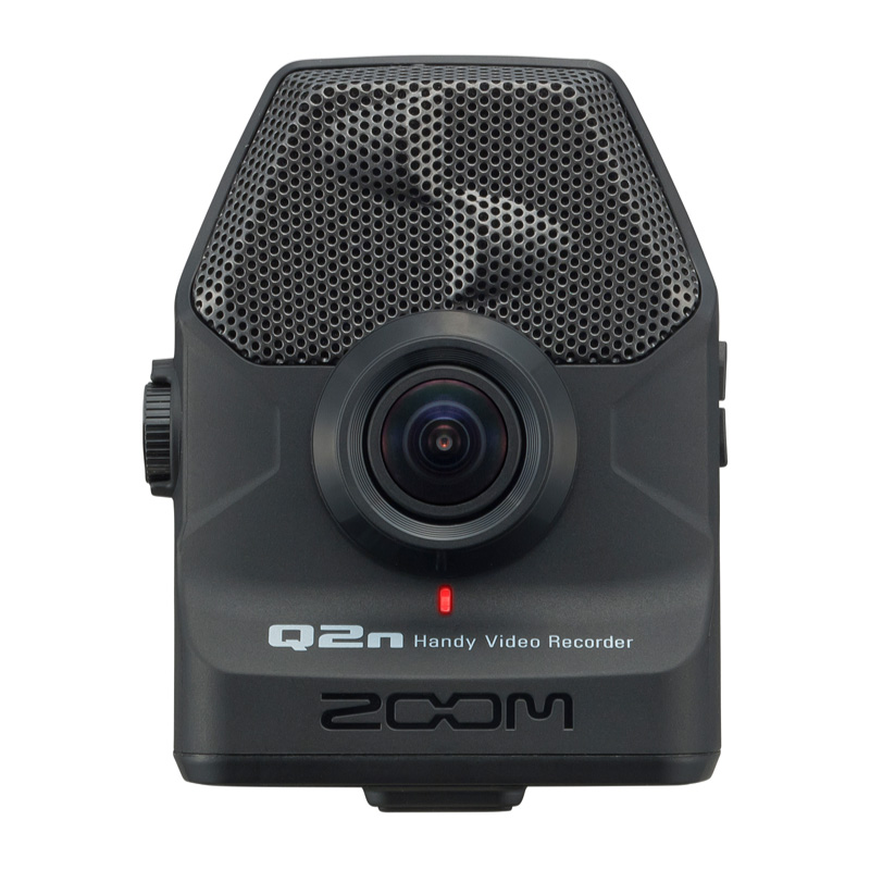 ZOOM Q2n 便攜式音樂錄影機 (Q2n) 【美鼓打擊】