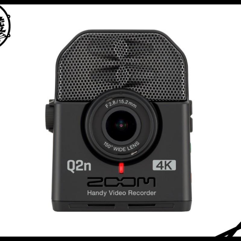 ZOOM Q2n-4K 便攜4K音樂錄影機
